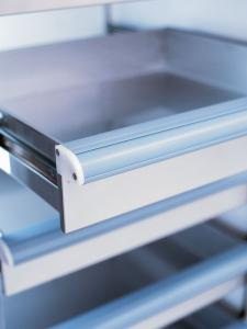 Medical-Grade Stainless-Steel Drawers